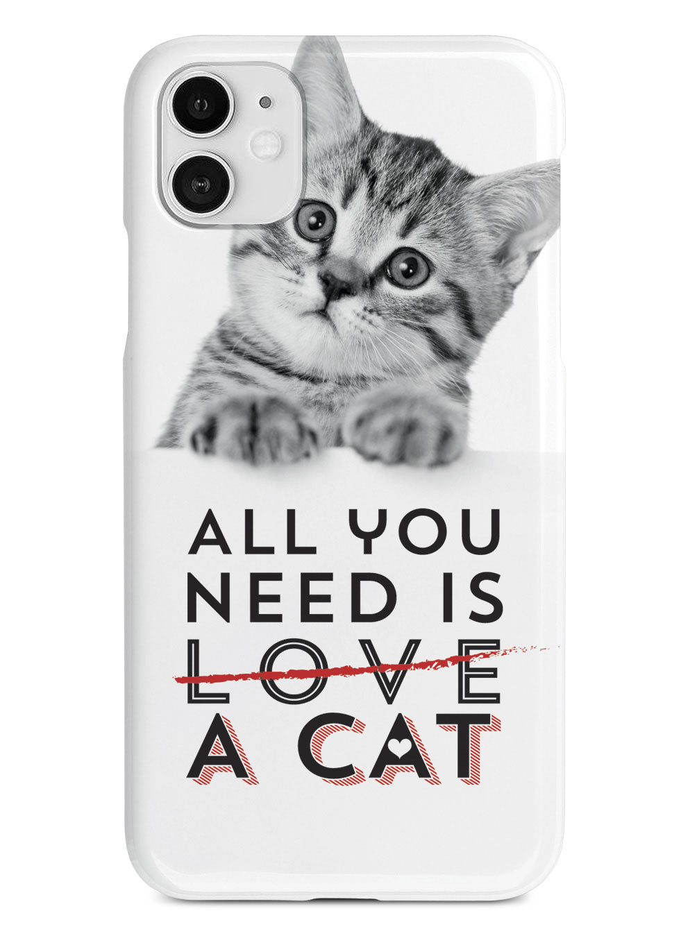 All You Need is a Cat Case