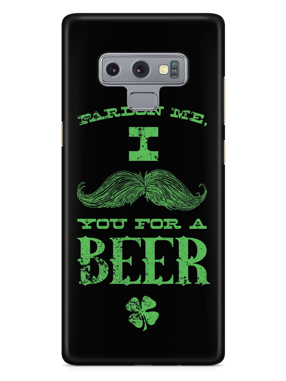 Mustache You For a Beer - St. Patrick's Day Drinking Case