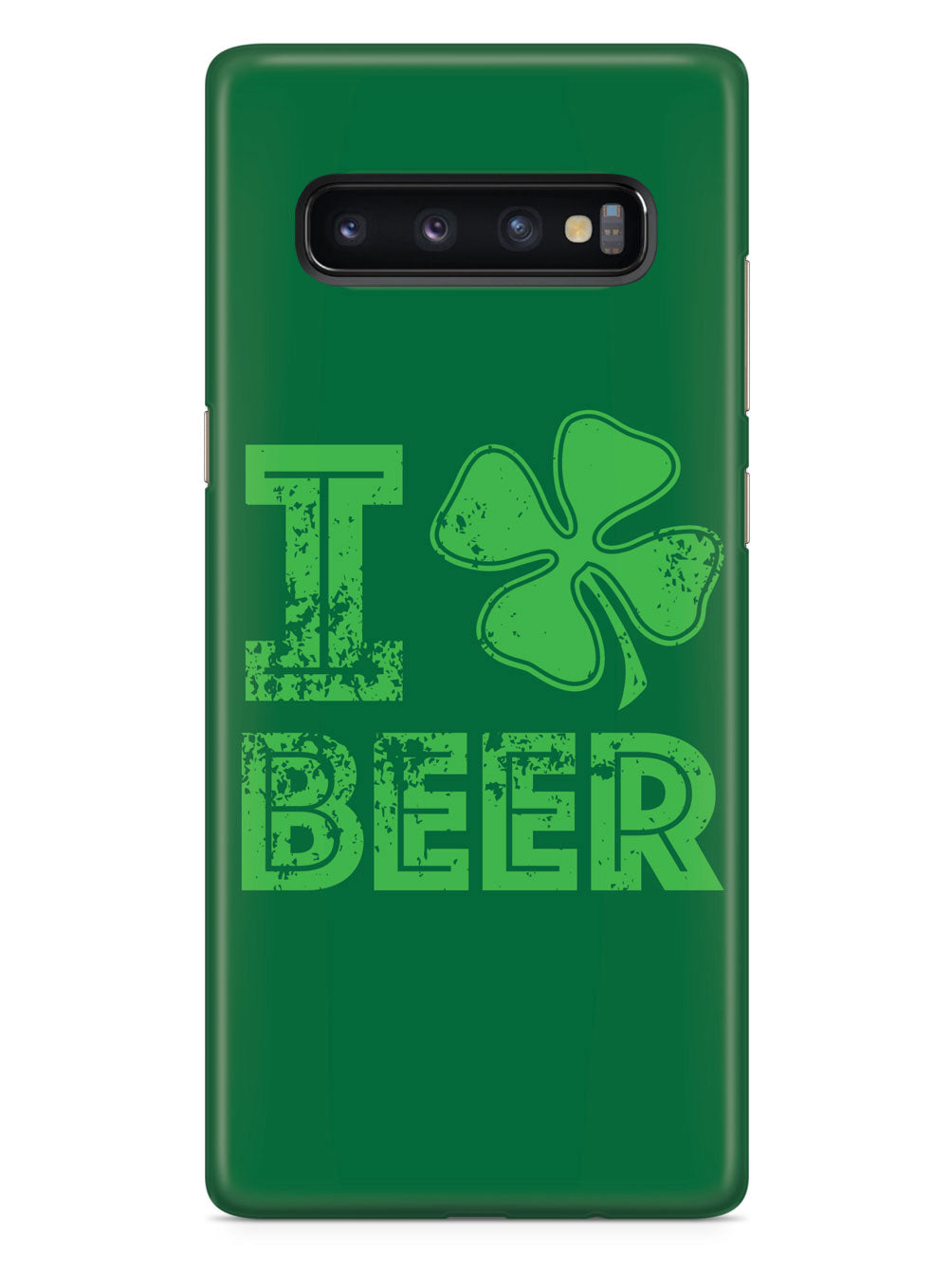 I Love Beer - St. Patrick's Day Four Leaf Clover Lucky Case