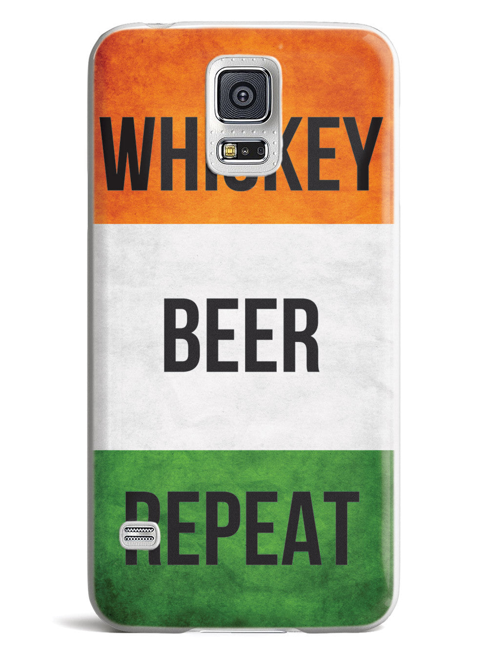 Whiskey Beer Repeat - Irish Flag Case
