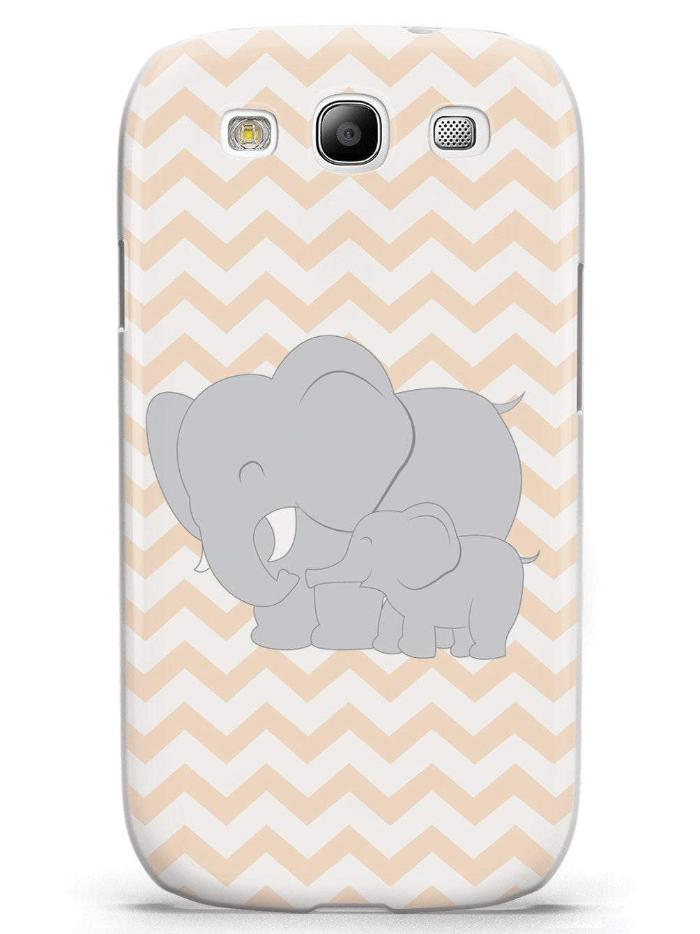 Baby Elephant Chevron Pattern Case