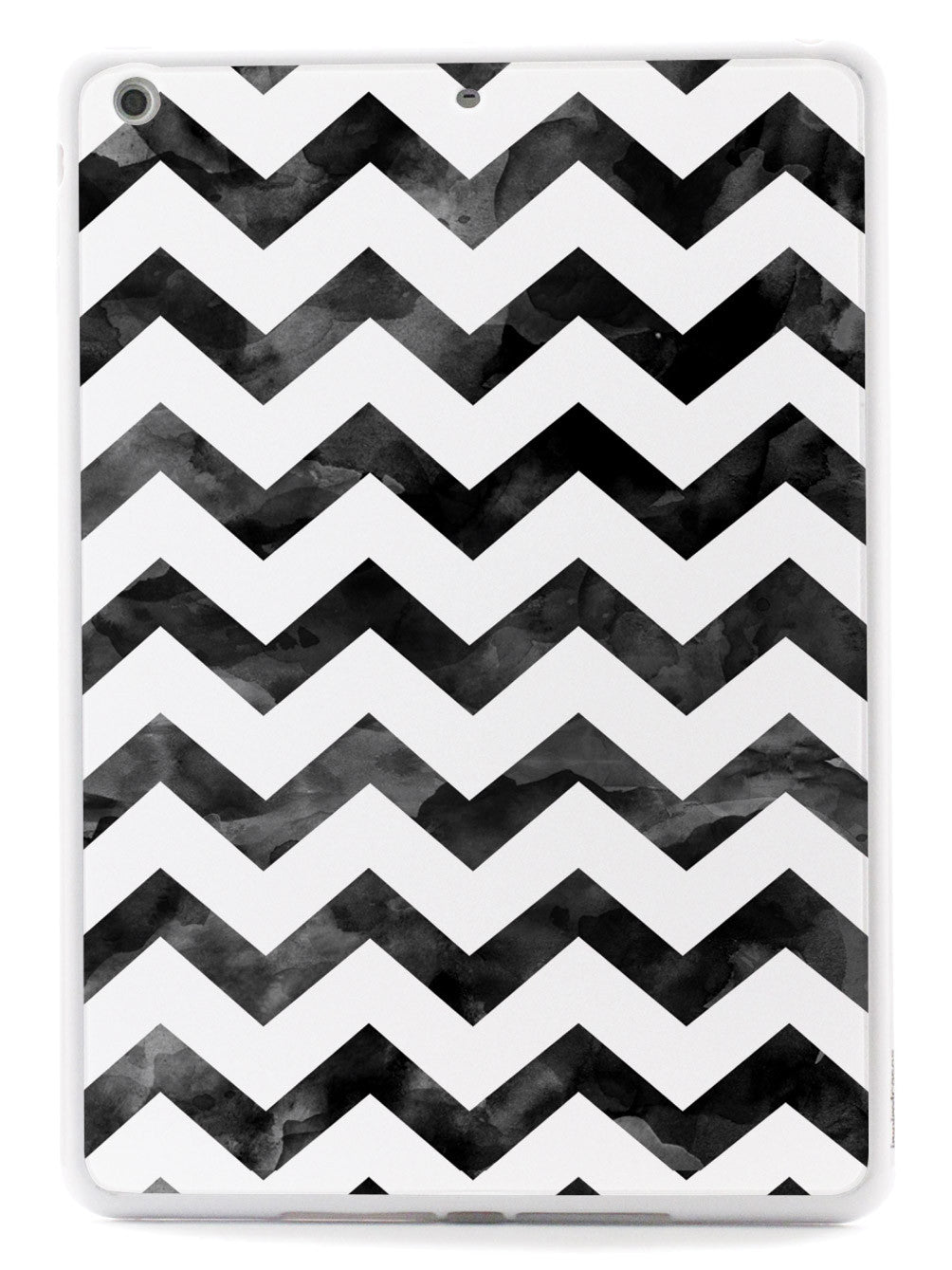 Watercolor Chevron Pattern - Black Case