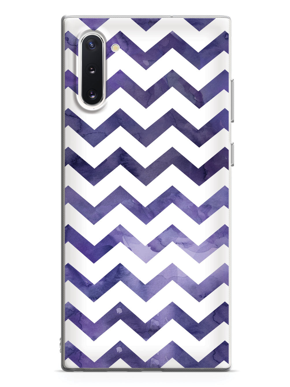 Watercolor Chevron Pattern - Indigo Case