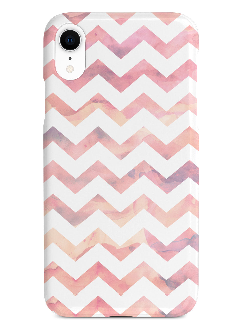 Watercolor Chevron Pattern - Light Pink Case