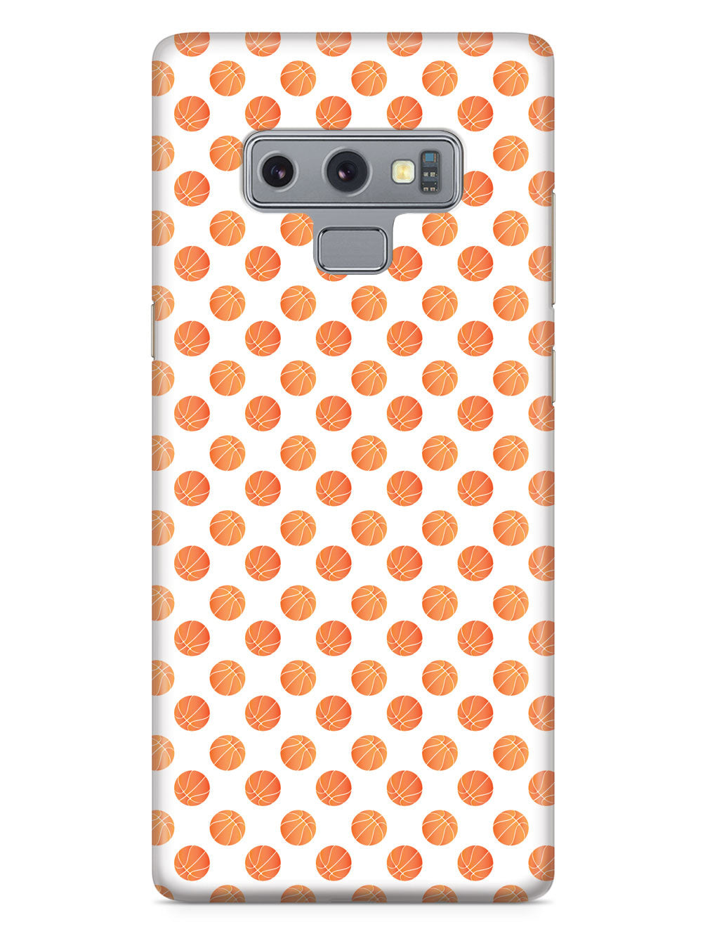 Basketball Circle Pattern Case