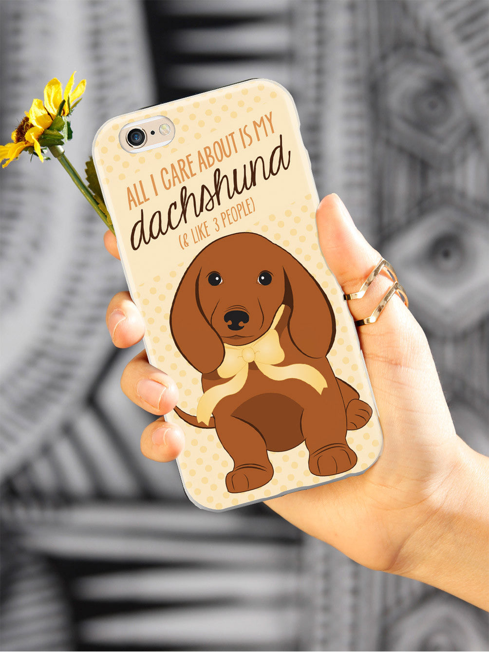 All I Care About is My Dachshund Case