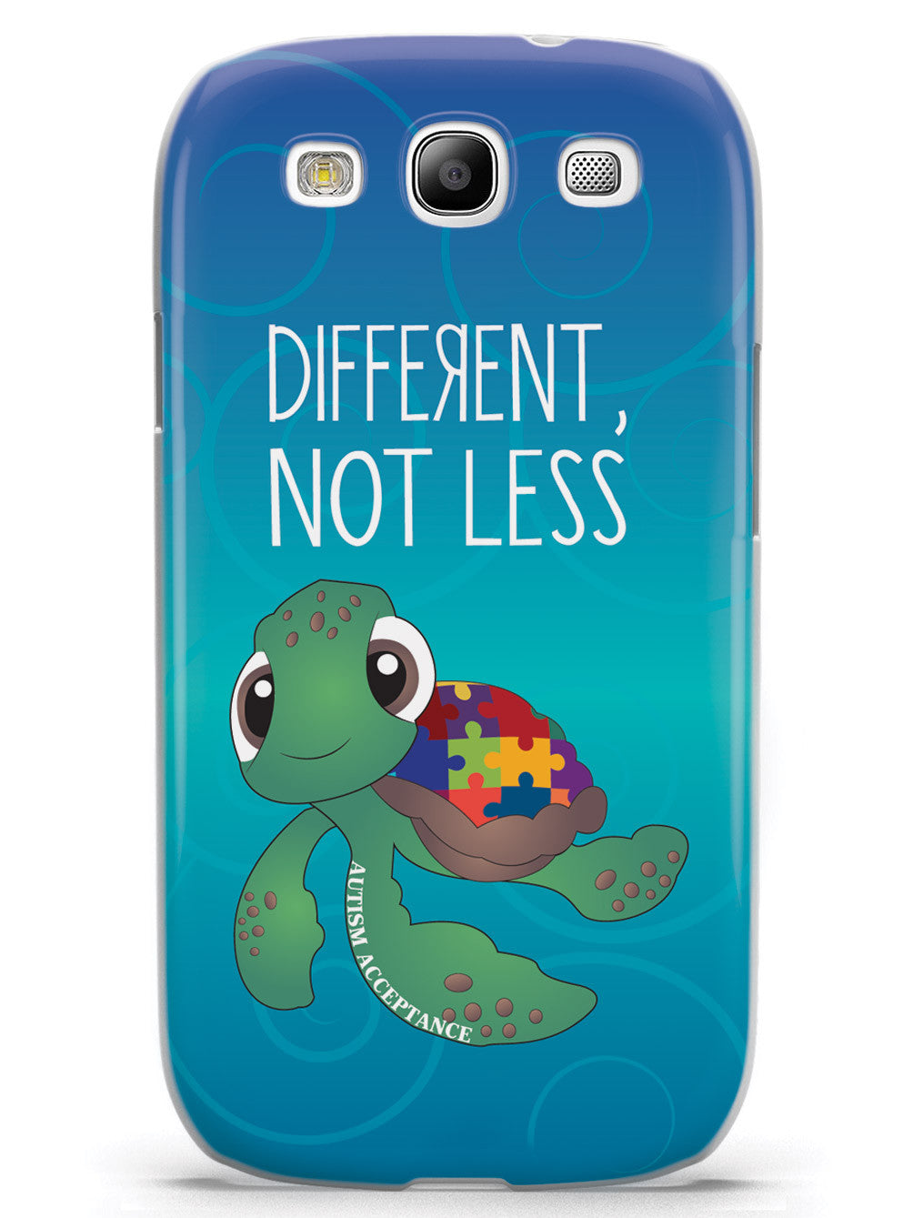 Different, Not Less Turtle - Autism Awareness Case