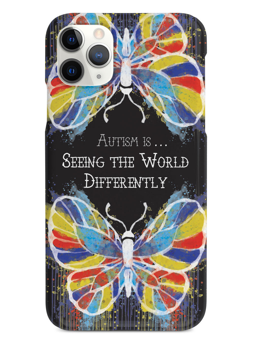 Autism Butterfly Case