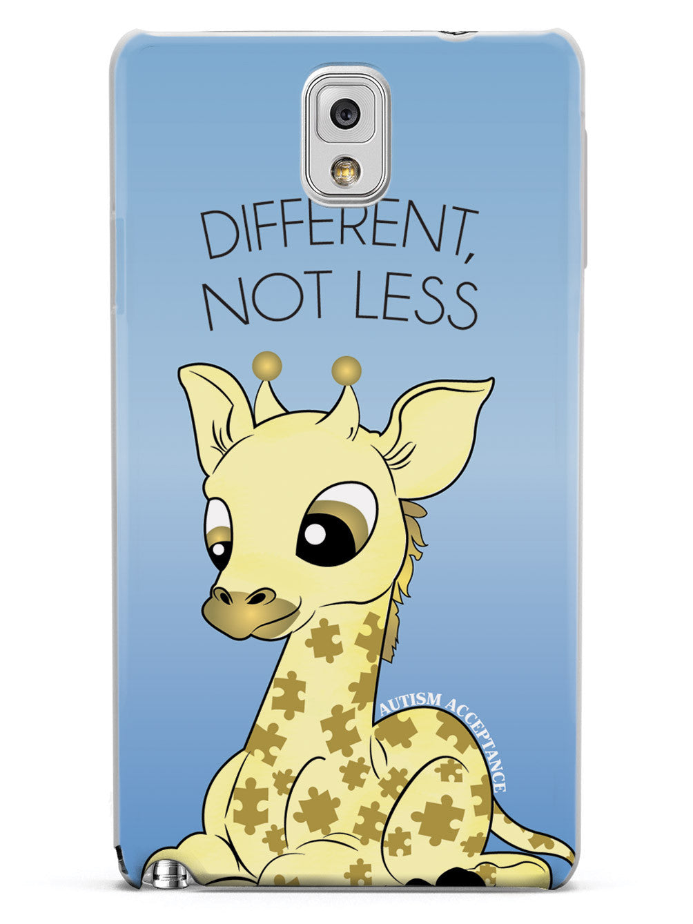 Different, Not Less Giraffe - Autism Awareness Case