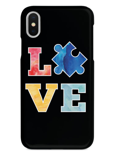 Love - Autism Puzzle Piece Awareness Case