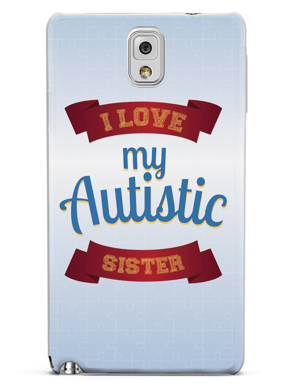 I Love My Autistic Sister Case