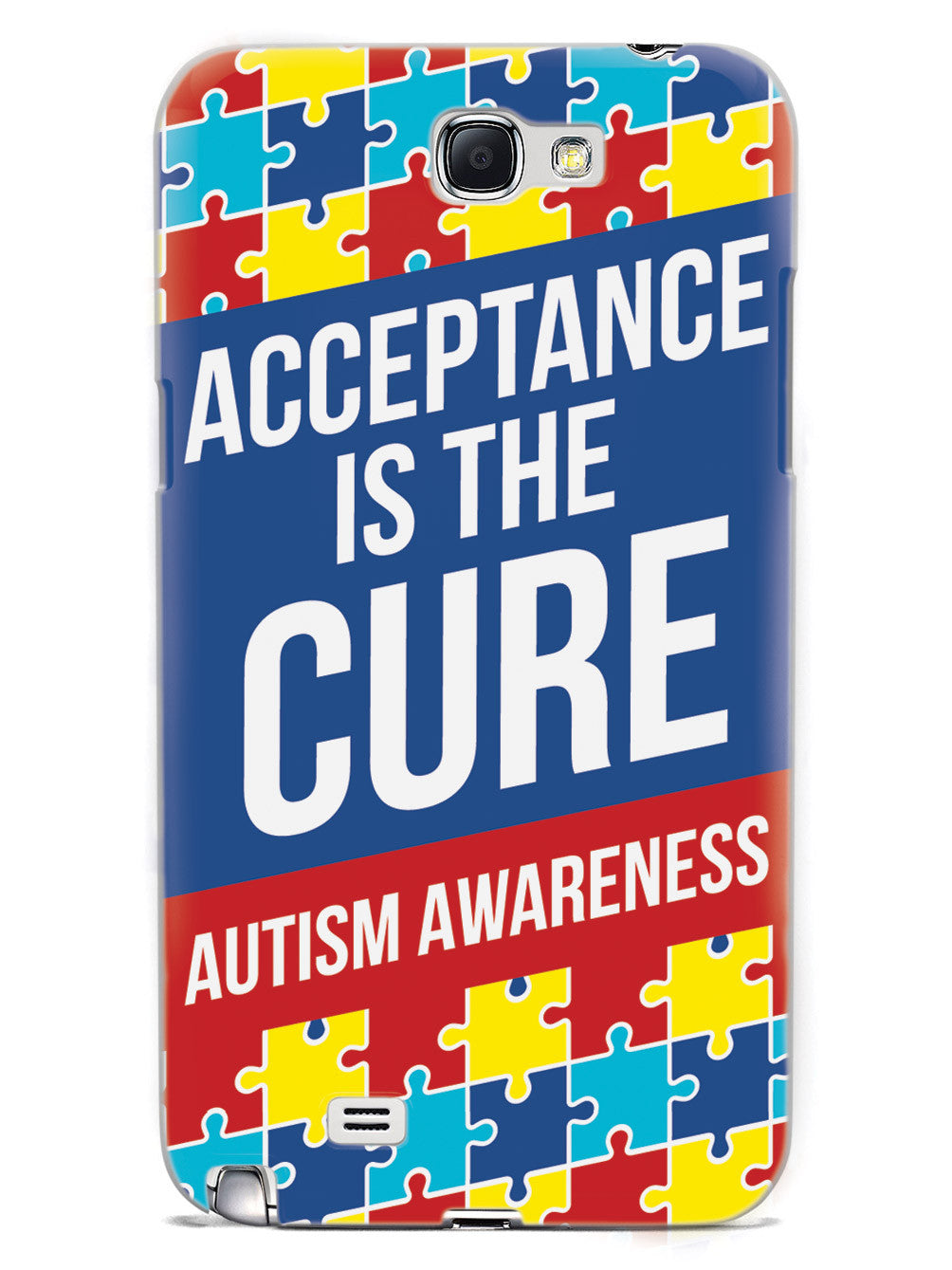 Acceptance is the Cure - Autism Awareness Case