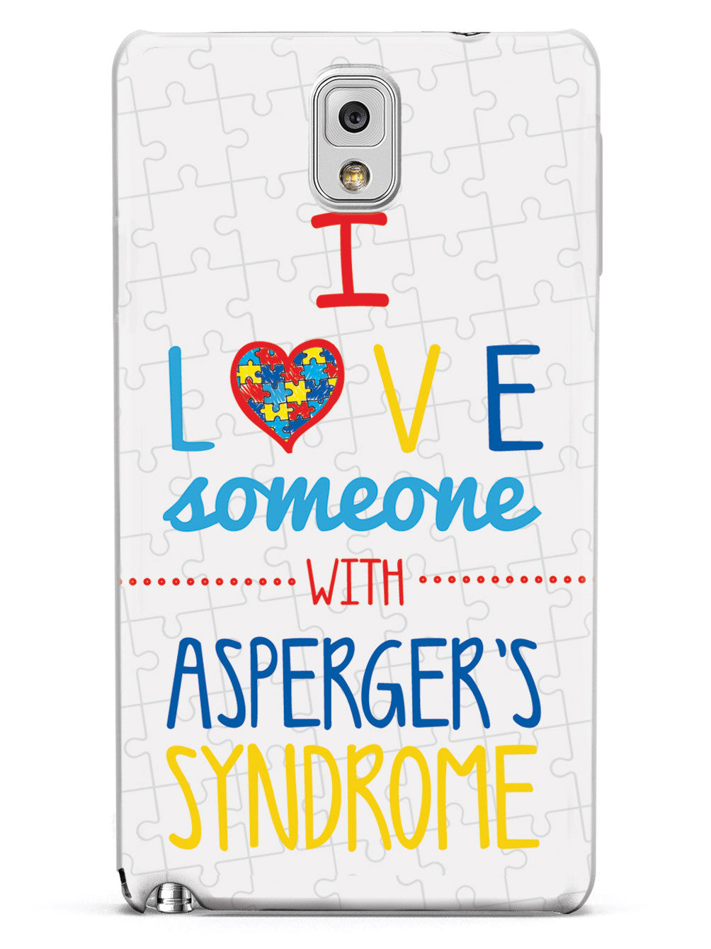 I Love Someone with Asperger's Case