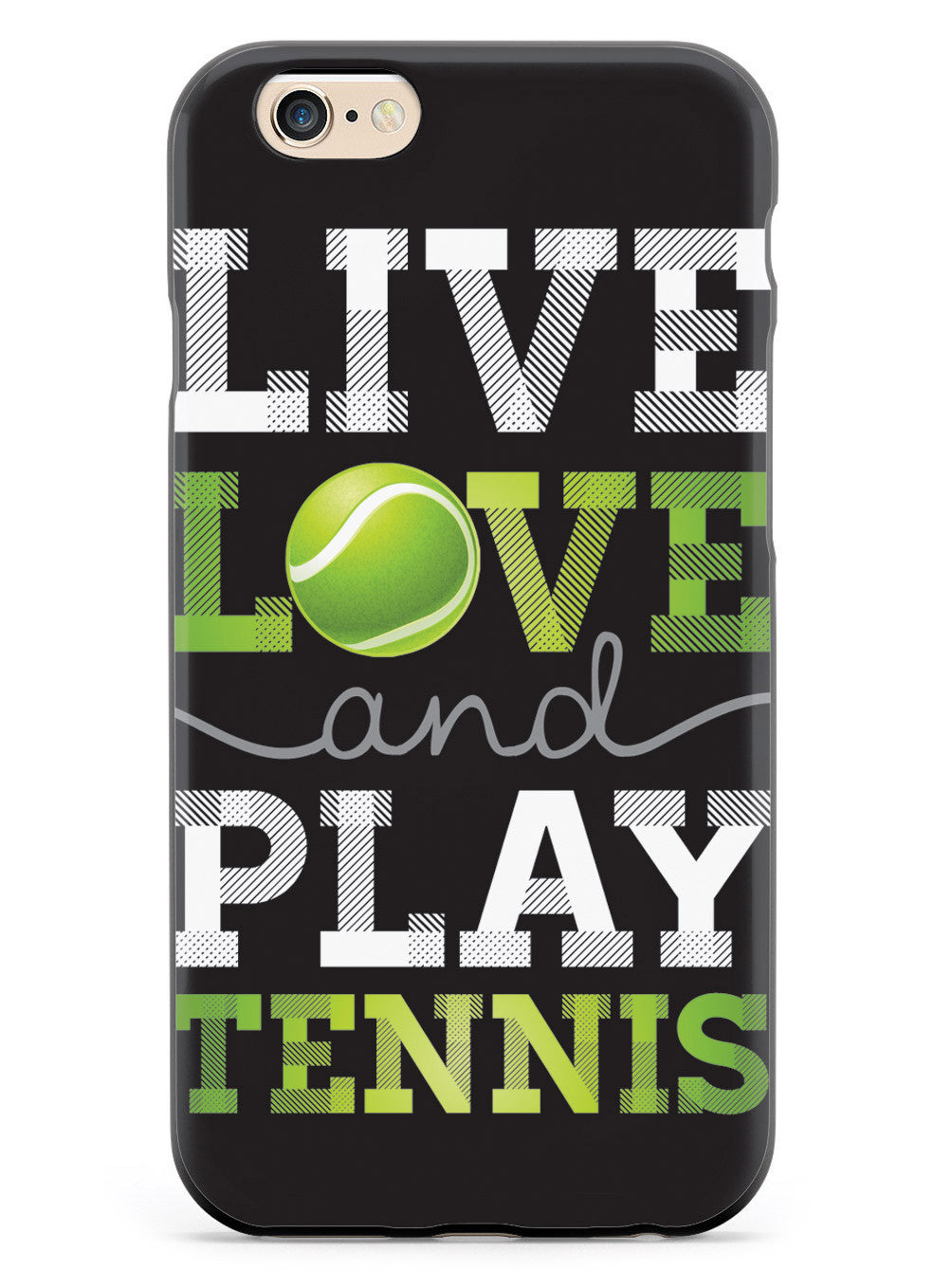 Live Love Play Tennis Case