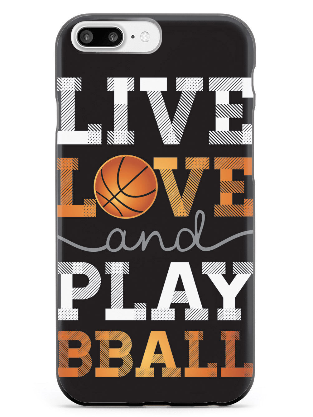 Live Love & Play Basketball Case