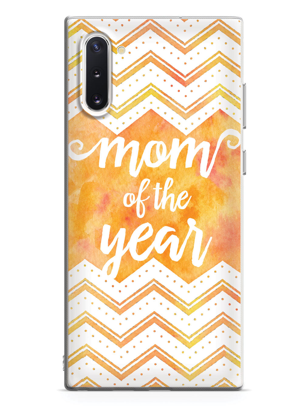 Mom of the Year - Yellow Orange Case