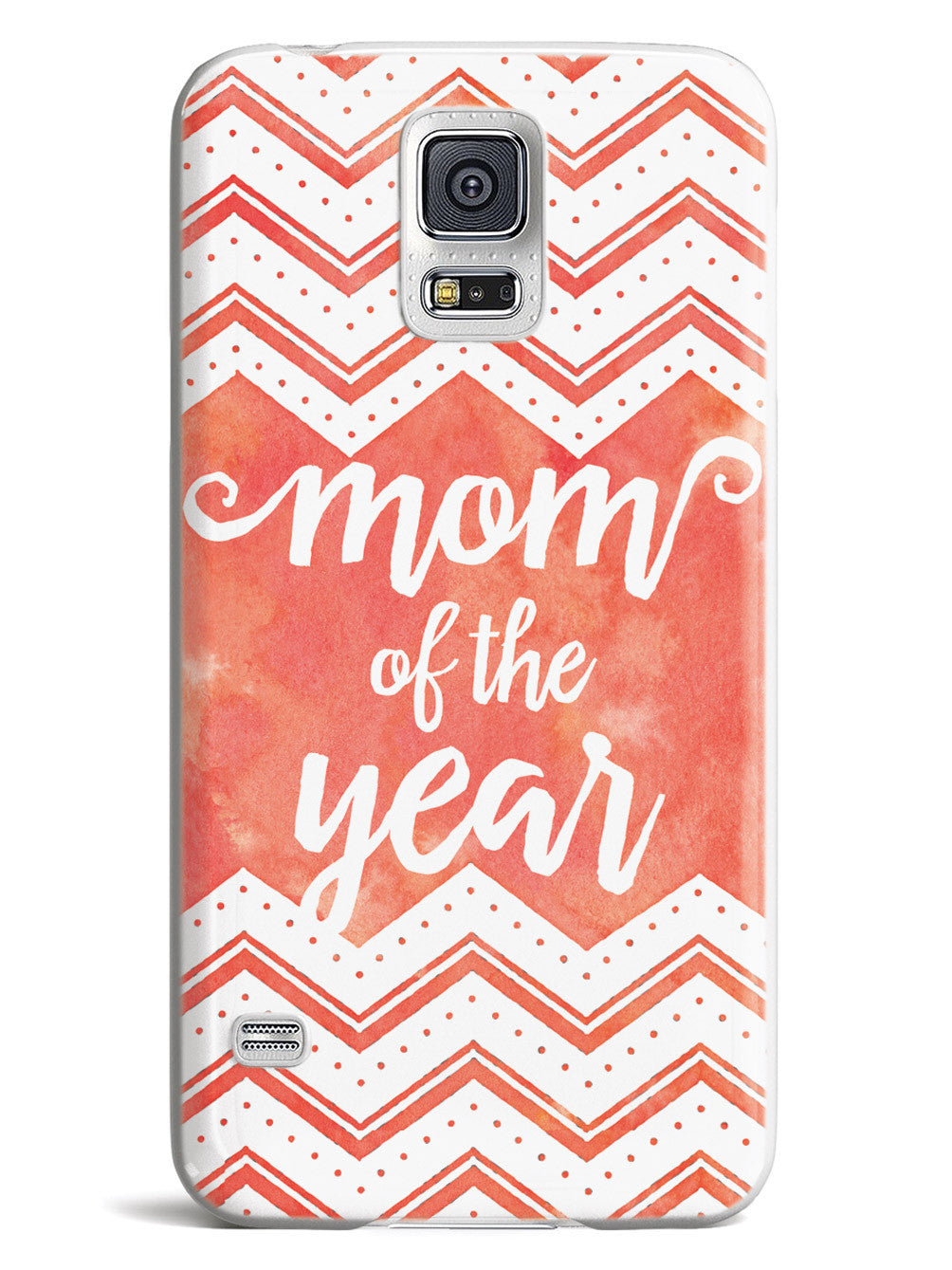 Mom of the Year - Red Orange Case