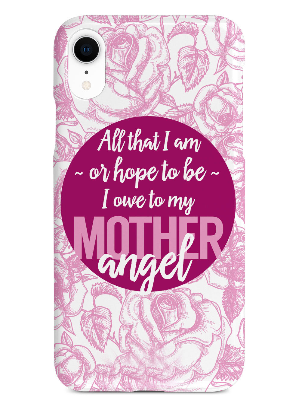 Mother Angel - Abraham Lincoln Quote Case