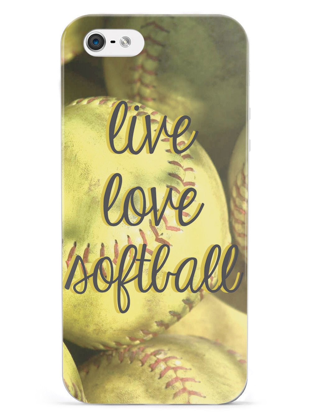 Live Love Softball Case