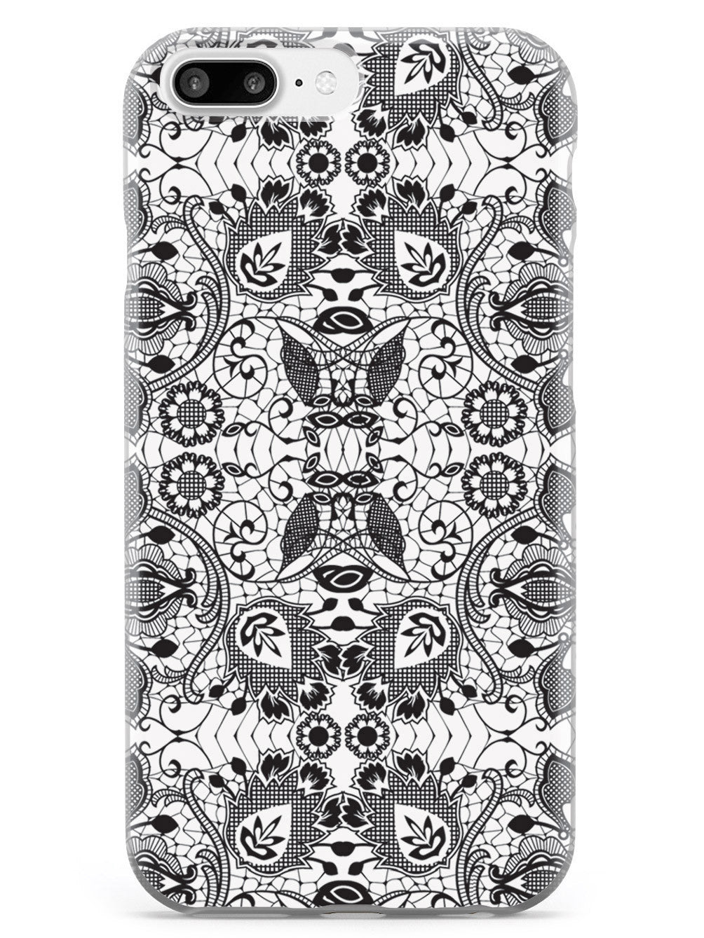 Lace Pattern - Black Case