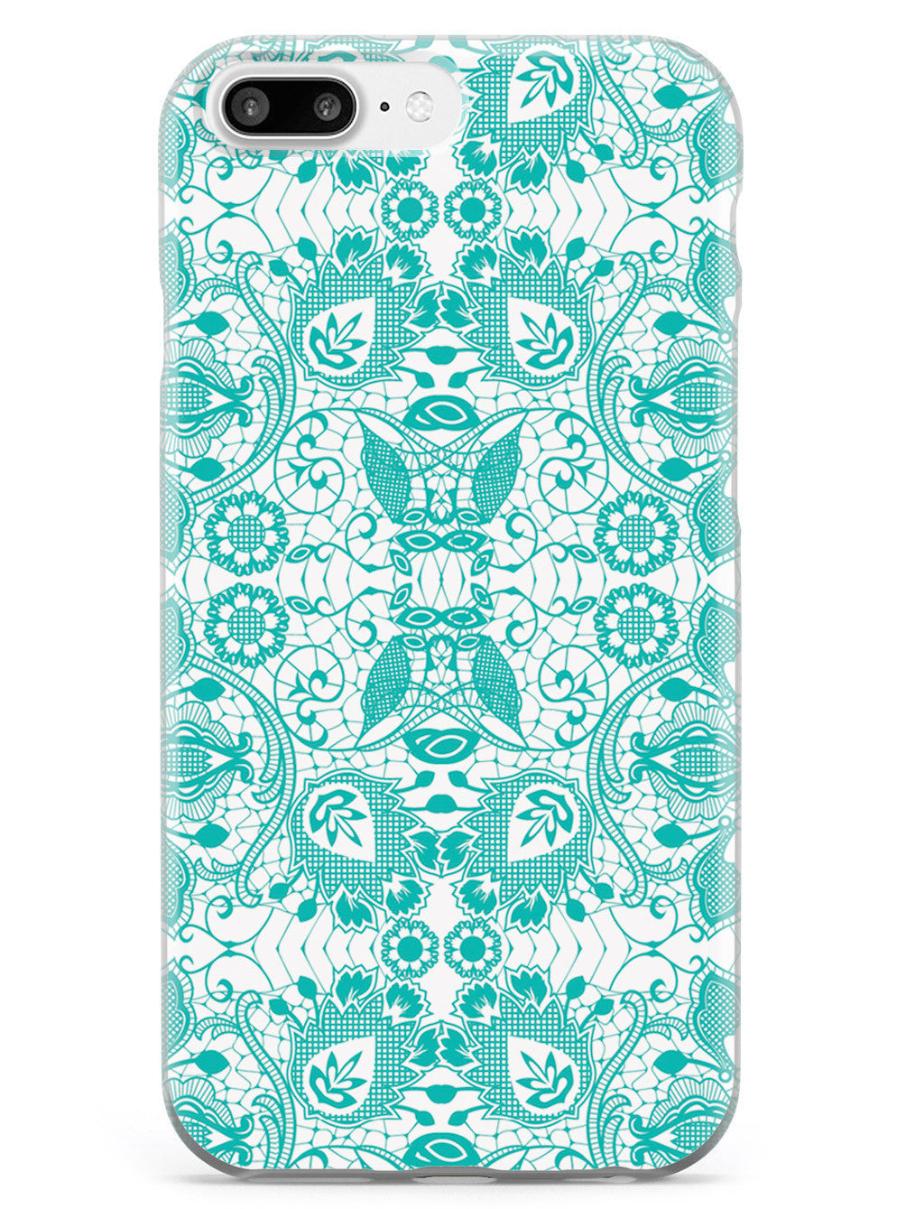 Lace Pattern - Teal Case