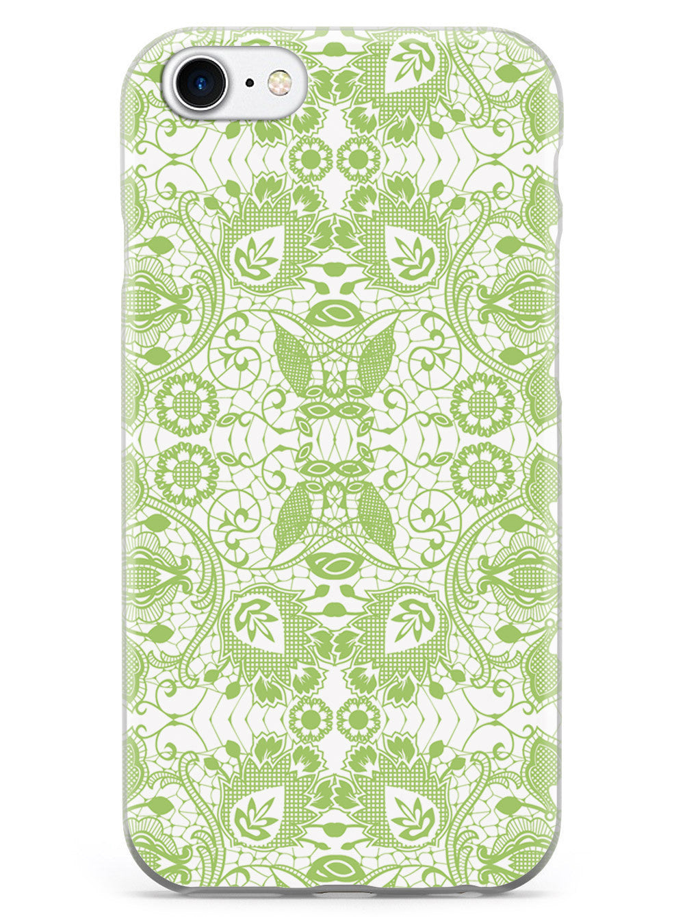 Lace Pattern - Sage Green Case