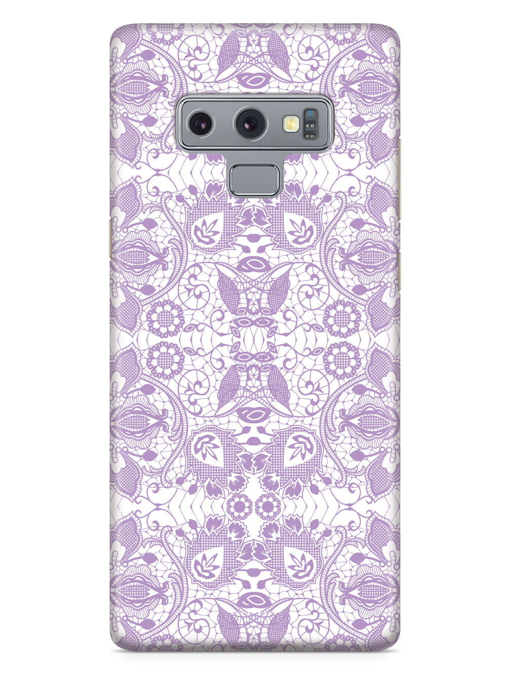 Lace Pattern - Lavender Case