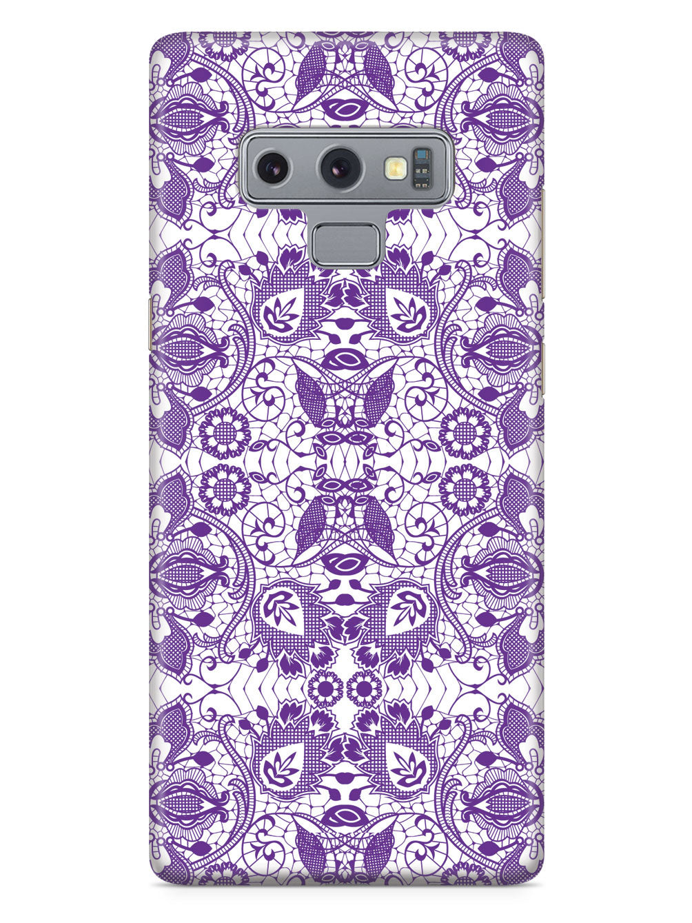 Lace Pattern - Royal Purple Case