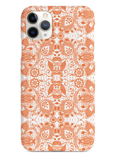 Lace Pattern - Orange Case