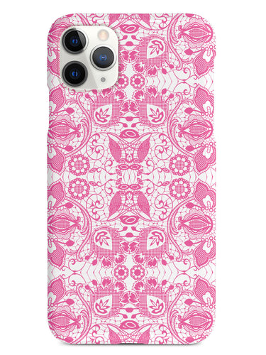 Lace Pattern - Pink Case