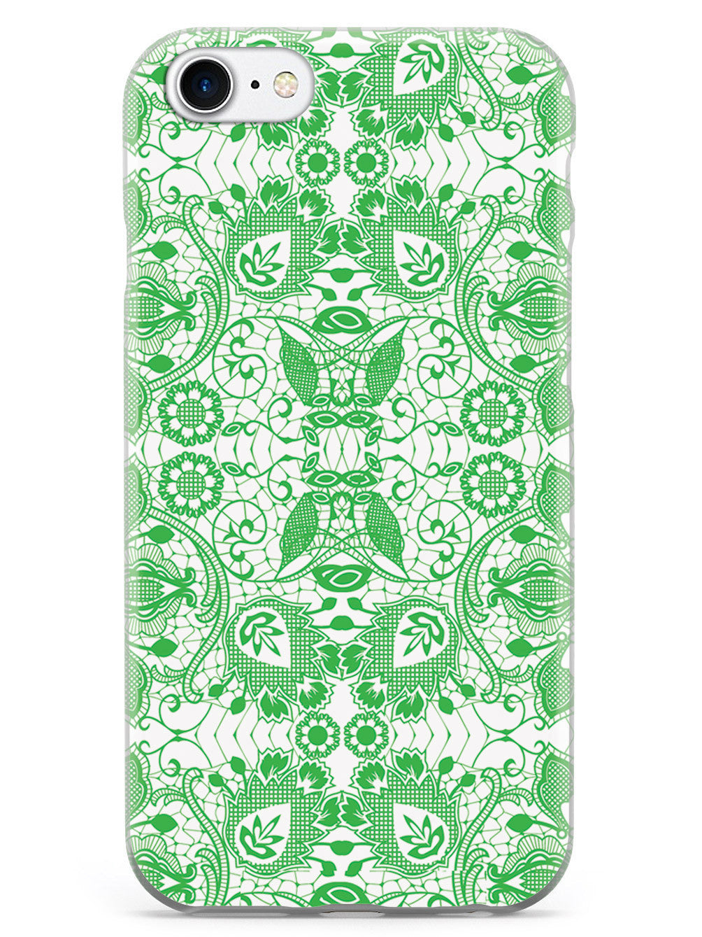 Lace Pattern - Emerald Green Case
