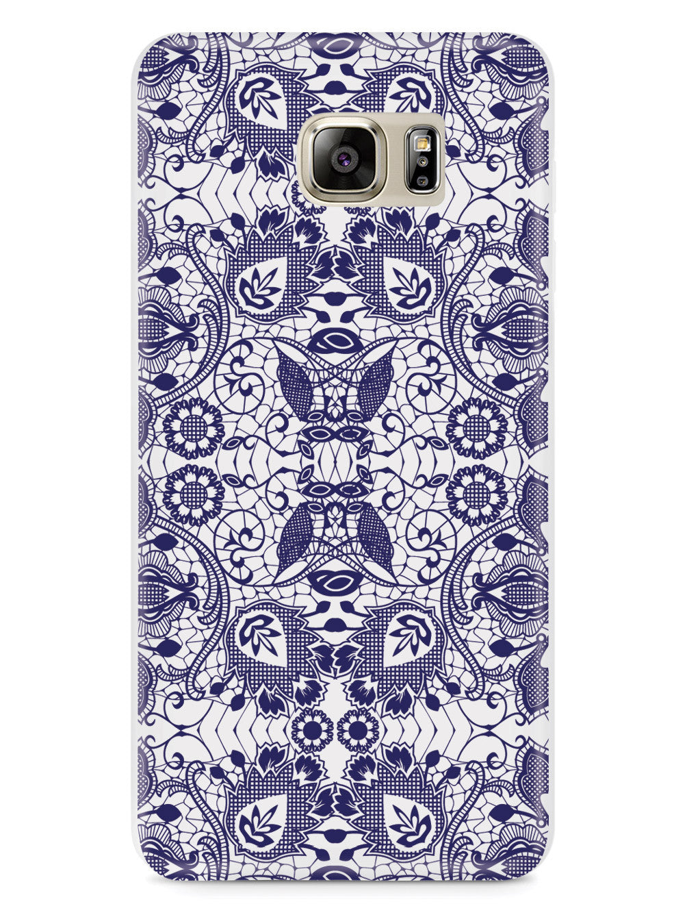 Lace Pattern - Navy Blue Case