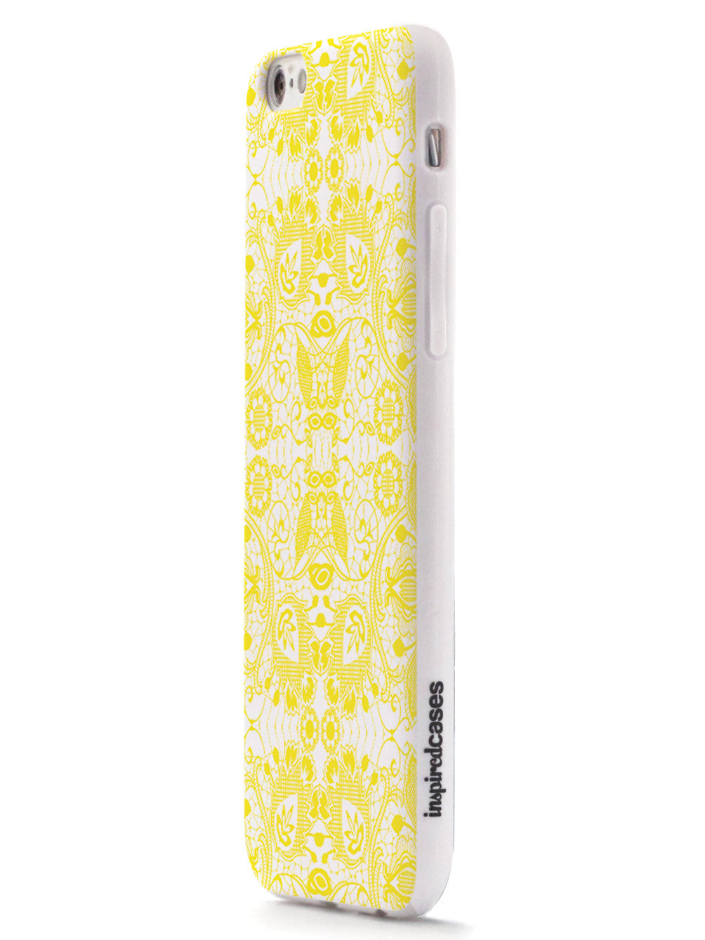 Lace Pattern - Yellow Case