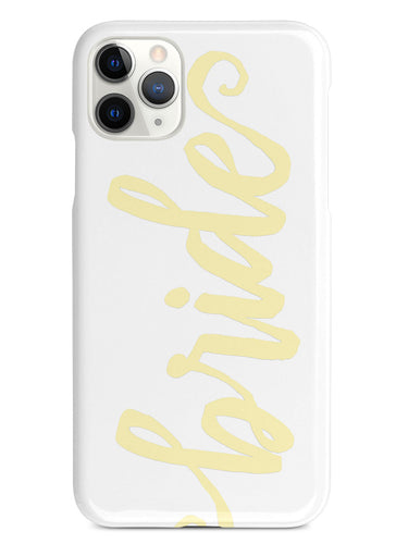 Bride - Yellow Case