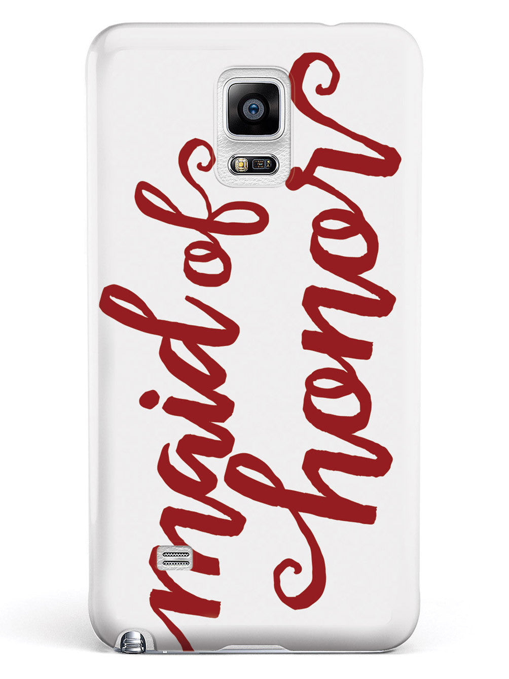 Maid of Honor - Crimson Red Case
