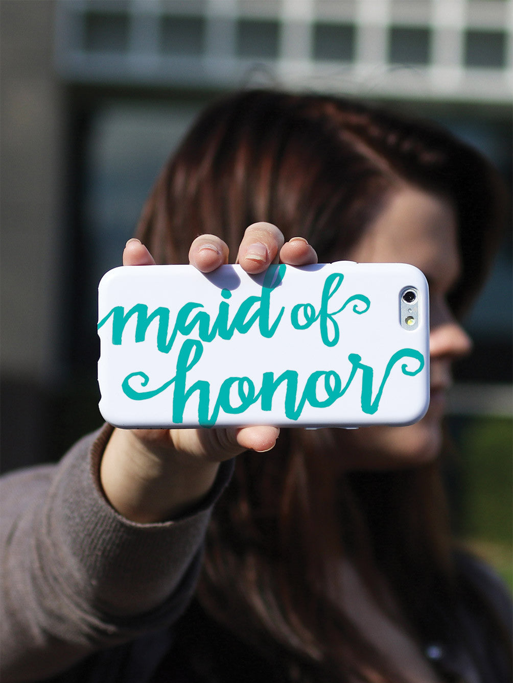 Maid of Honor - Teal Case