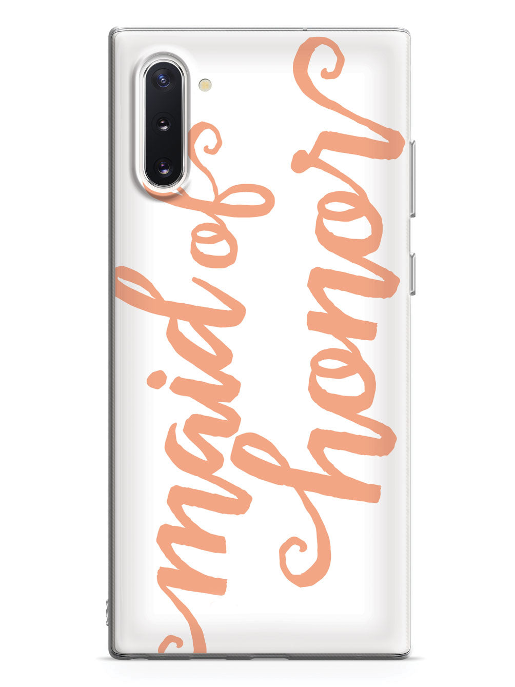 Maid of Honor - Peach Case