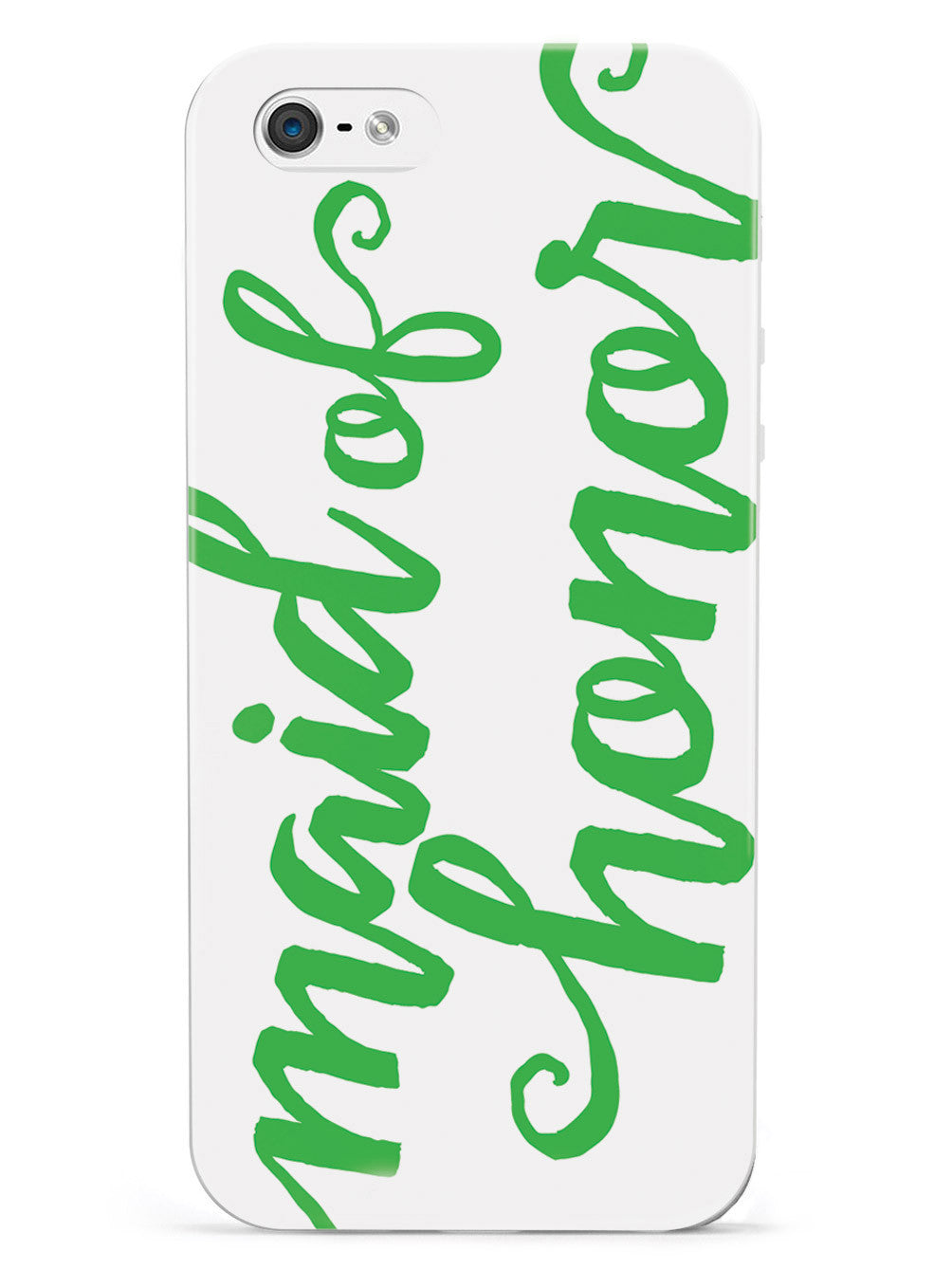 Maid of Honor - Emerald Green Case