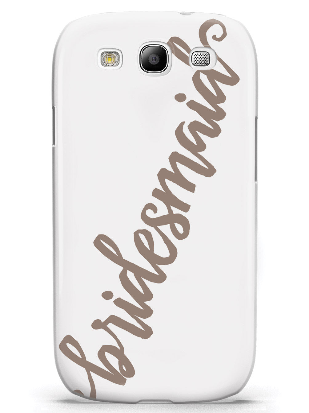 Bridesmaid - Brown Neutral Case