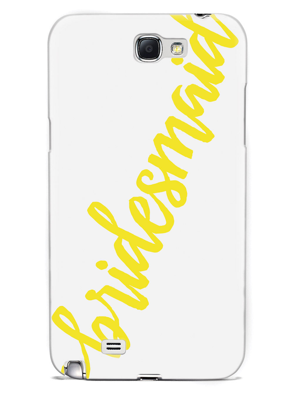 Bridesmaid - Yellow Case
