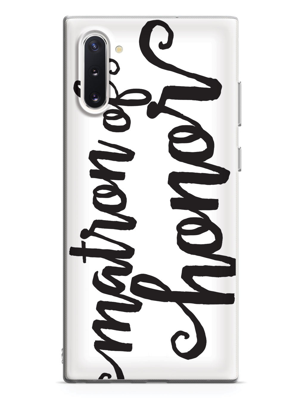 Matron of Honor - Black Case