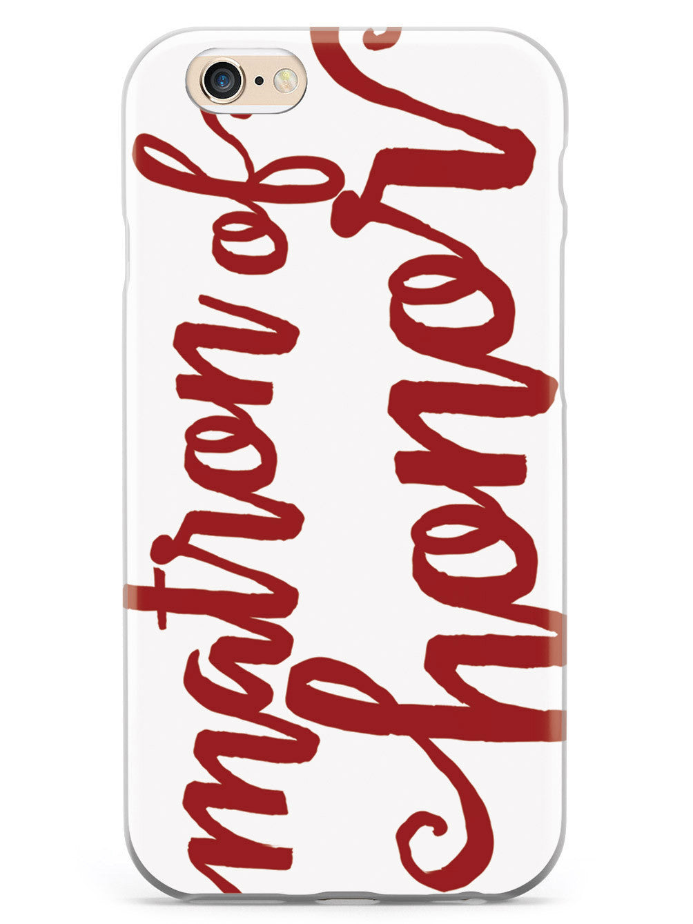 Matron of Honor - Crimson Red Case
