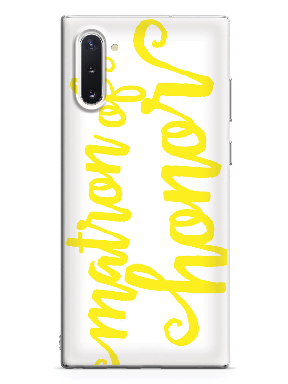 Matron of Honor - Yellow Case