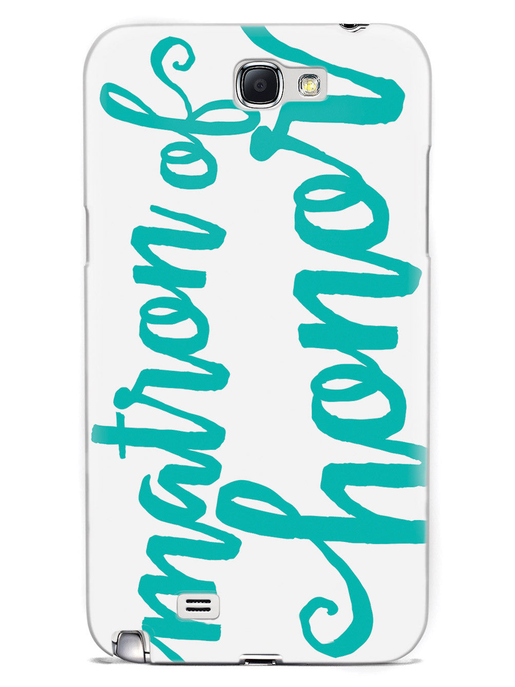 Matron of Honor - Teal Case