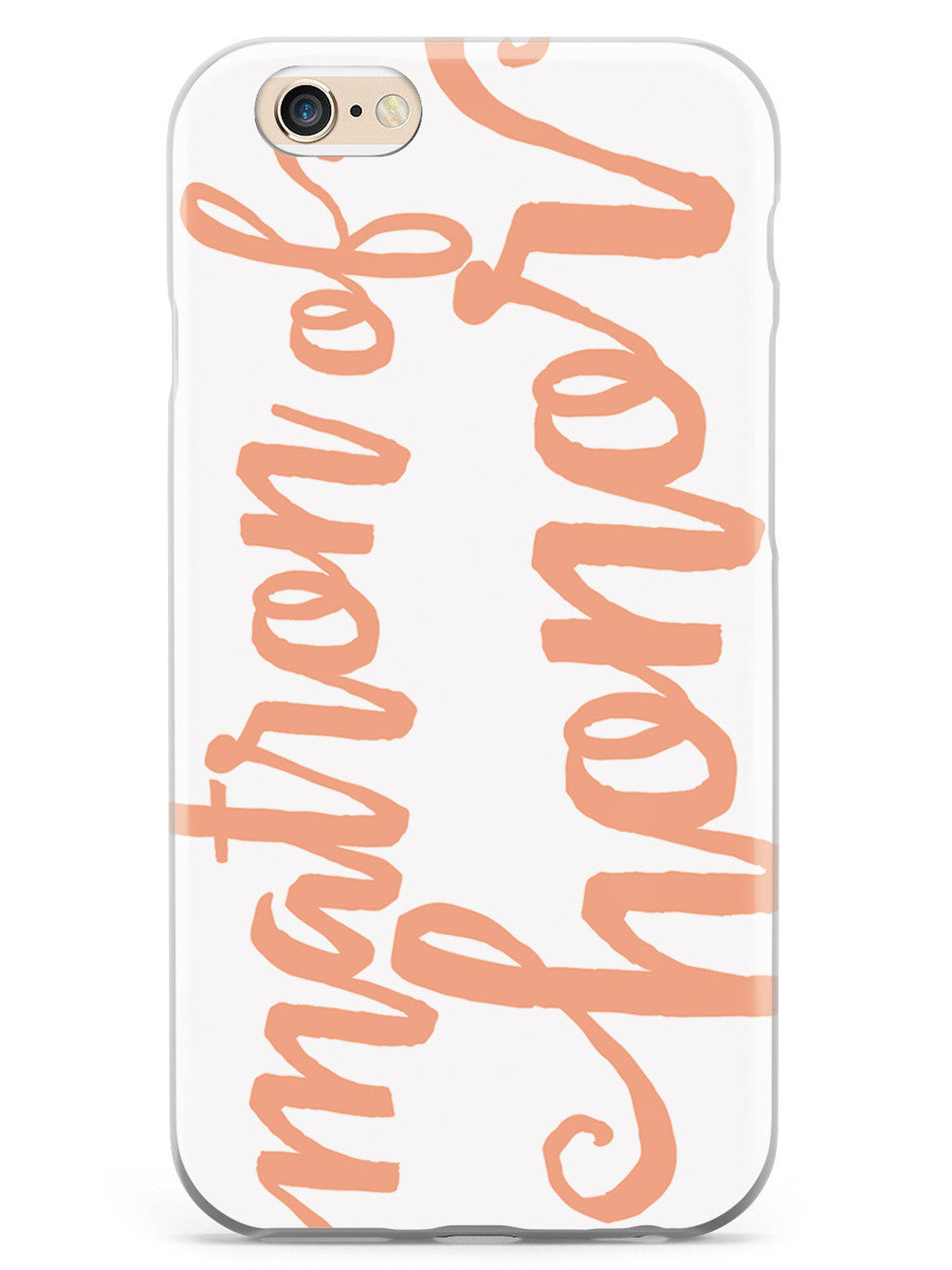 Matron of Honor - Peach Case