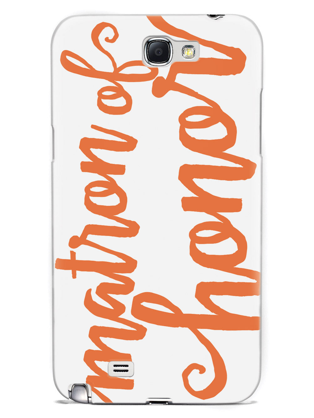 Matron of Honor - Orange Case
