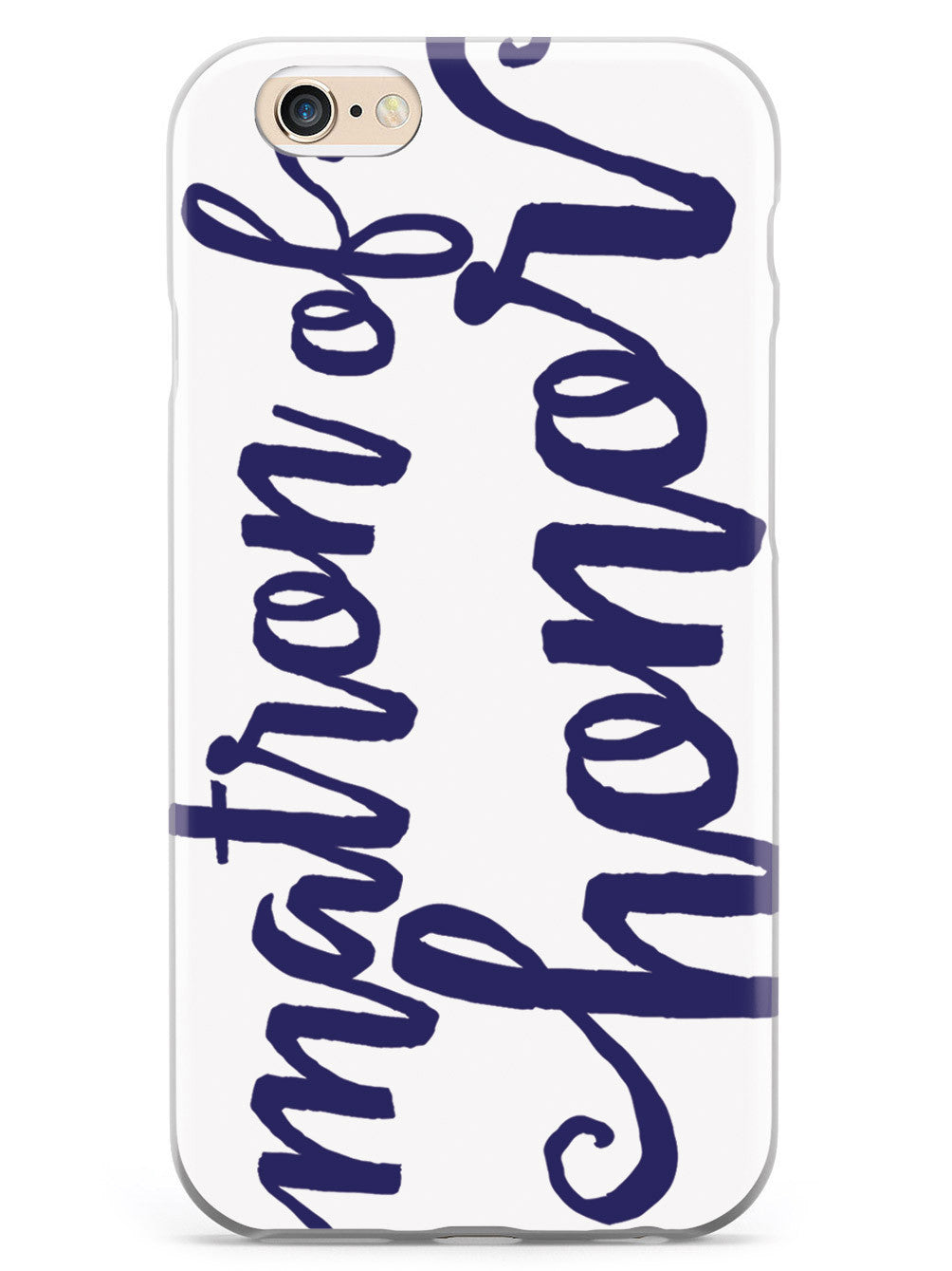 Matron of Honor - Navy Blue Case