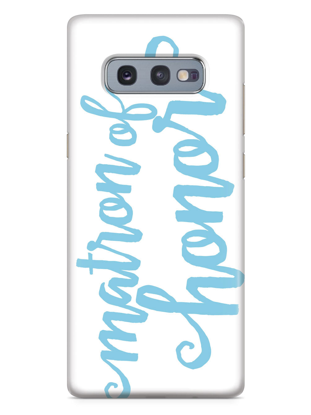 Matron of Honor - Light Blue Case