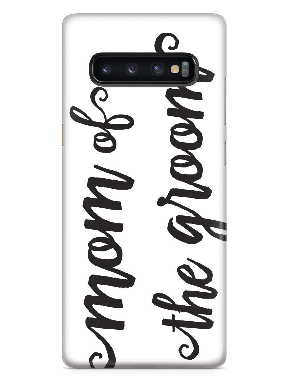 Mom of the Groom - Black Case