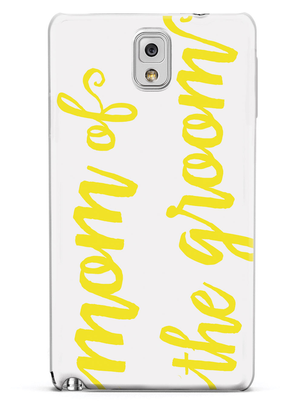 Mom of the Groom - Yellow Case